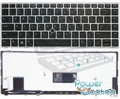 Tastatura HP EliteBook Folio 9470M iluminata backlit. Keyboard HP EliteBook Folio 9470M iluminata backlit. Tastaturi laptop HP EliteBook Folio 9470M iluminata backlit. Tastatura notebook HP EliteBook Folio 9470M iluminata backlit