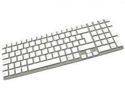 Tastatura Sony 550102M22 alba. Keyboard Sony 550102M22. Tastaturi laptop Sony 550102M22. Tastatura notebook Sony 550102M22