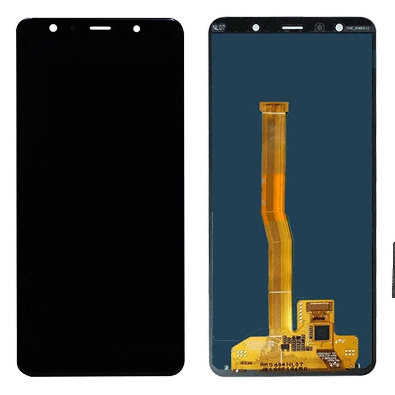 Display Samsung Galaxy A7 2018 A750 Display TFT LCD Black Negru imagine powerlaptop.ro 2021