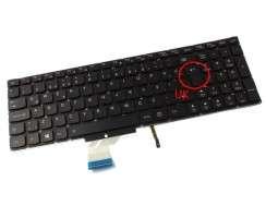 Tastatura Lenovo  PK1314R2A00 iluminata. Keyboard Lenovo  PK1314R2A00. Tastaturi laptop Lenovo  PK1314R2A00. Tastatura notebook Lenovo  PK1314R2A00