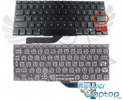 Tastatura Apple MacBook Pro 15 Retina A1398 MD874. Keyboard Apple MacBook Pro 15 Retina A1398 MD874. Tastaturi laptop Apple MacBook Pro 15 Retina A1398 MD874. Tastatura notebook Apple MacBook Pro 15 Retina A1398 MD874