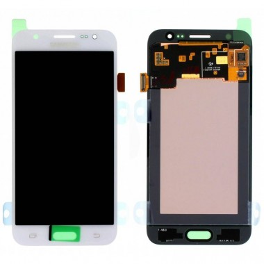 Ansamblu Display LCD + Touchscreen Samsung Galaxy J5 2015 J500 Display Original Service Pack White Alb . Ecran + Digitizer Samsung Galaxy J5 2015 J500 Display Original Service Pack White Alb