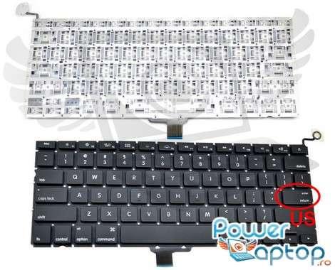 "Tastatura Apple MacBook Pro Unibody 13"" A1278. Keyboard Apple MacBook Pro Unibody 13"" A1278. Tastaturi laptop Apple MacBook Pro Unibody 13"" A1278. Tastatura notebook Apple MacBook Pro Unibody 13"" A1278"