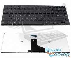 Tastatura Toshiba Satellite M40T. Keyboard Toshiba Satellite M40T. Tastaturi laptop Toshiba Satellite M40T. Tastatura notebook Toshiba Satellite M40T