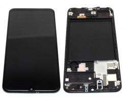Ansamblu Display LCD + Touchscreen Samsung Galaxy A50 A505 AMOLED Service Pack Original Negru Black Negru . Ecran + Digitizer Samsung Galaxy A50 A505 AMOLED Service Pack Original Negru Black