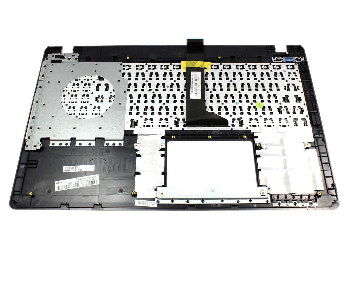 Tastatura Asus R510JK neagra cu Palmrest argintiu imagine