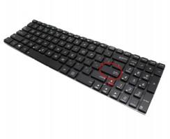 Tastatura Asus N56VJ iluminata. Keyboard Asus N56VJ. Tastaturi laptop Asus N56VJ. Tastatura notebook Asus N56VJ
