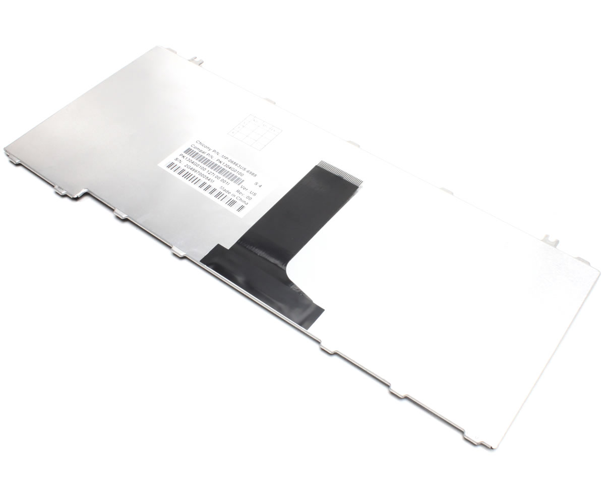 Tastatura Toshiba Satellite A210 173 negru lucios imagine