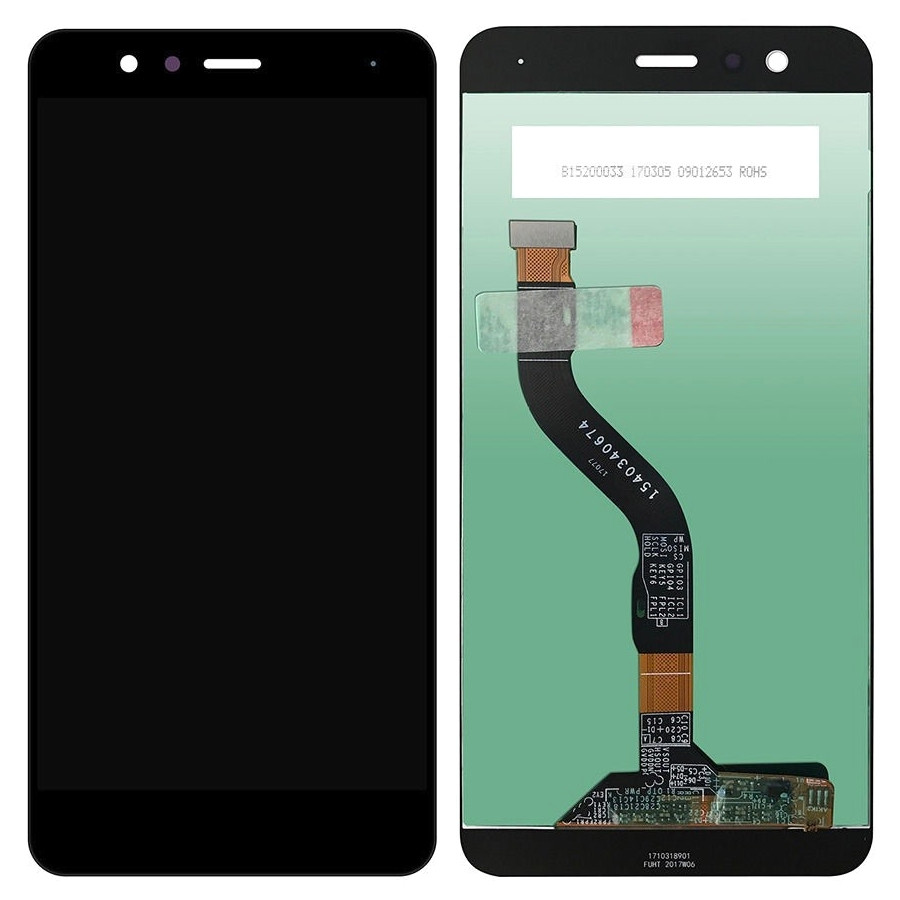 Display Huawei P10 Lite WAS LX1 Black Negru imagine