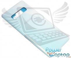 Capac Baterie Samsung Galaxy S10+ Plus G975 Alb Prism White. Capac Spate Samsung Galaxy S10+ Plus G975 Alb Prism White