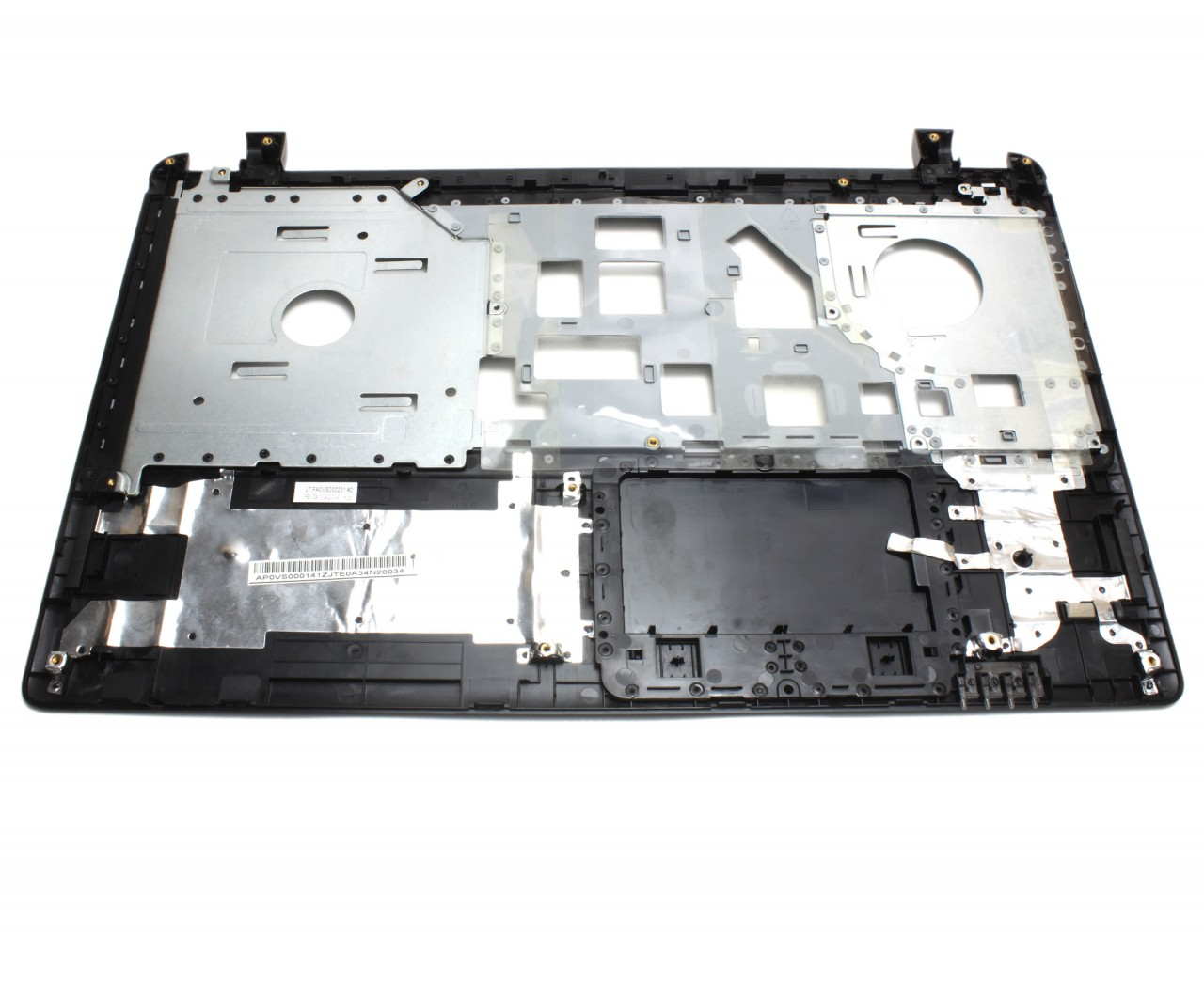 Palmrest Acer TravelMate TMP255 MG Negru fara touchpad imagine