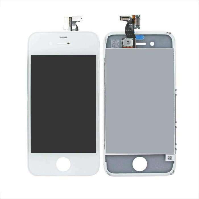 Display Apple iPhone 4 Alb White High Copy Calitate A Plus imagine