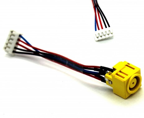 Mufa alimentare Lenovo Thinkpad Z60m cu fir . DC Jack Lenovo Thinkpad Z60m cu fir