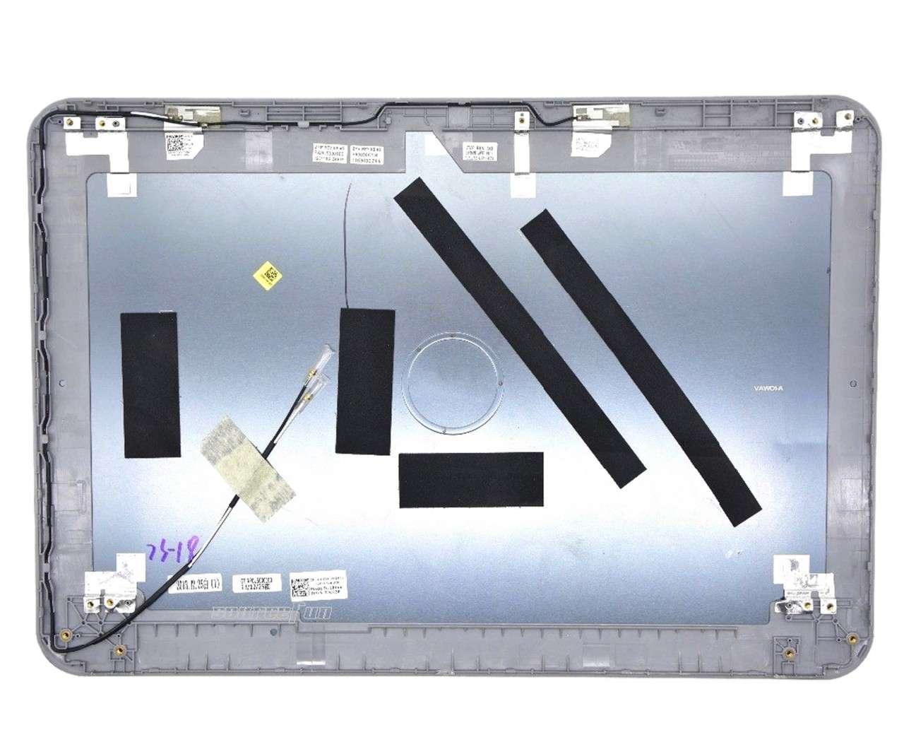 Capac Display BackCover Dell Inspiron 5521 Carcasa Display Gri Metalic imagine powerlaptop.ro 2021