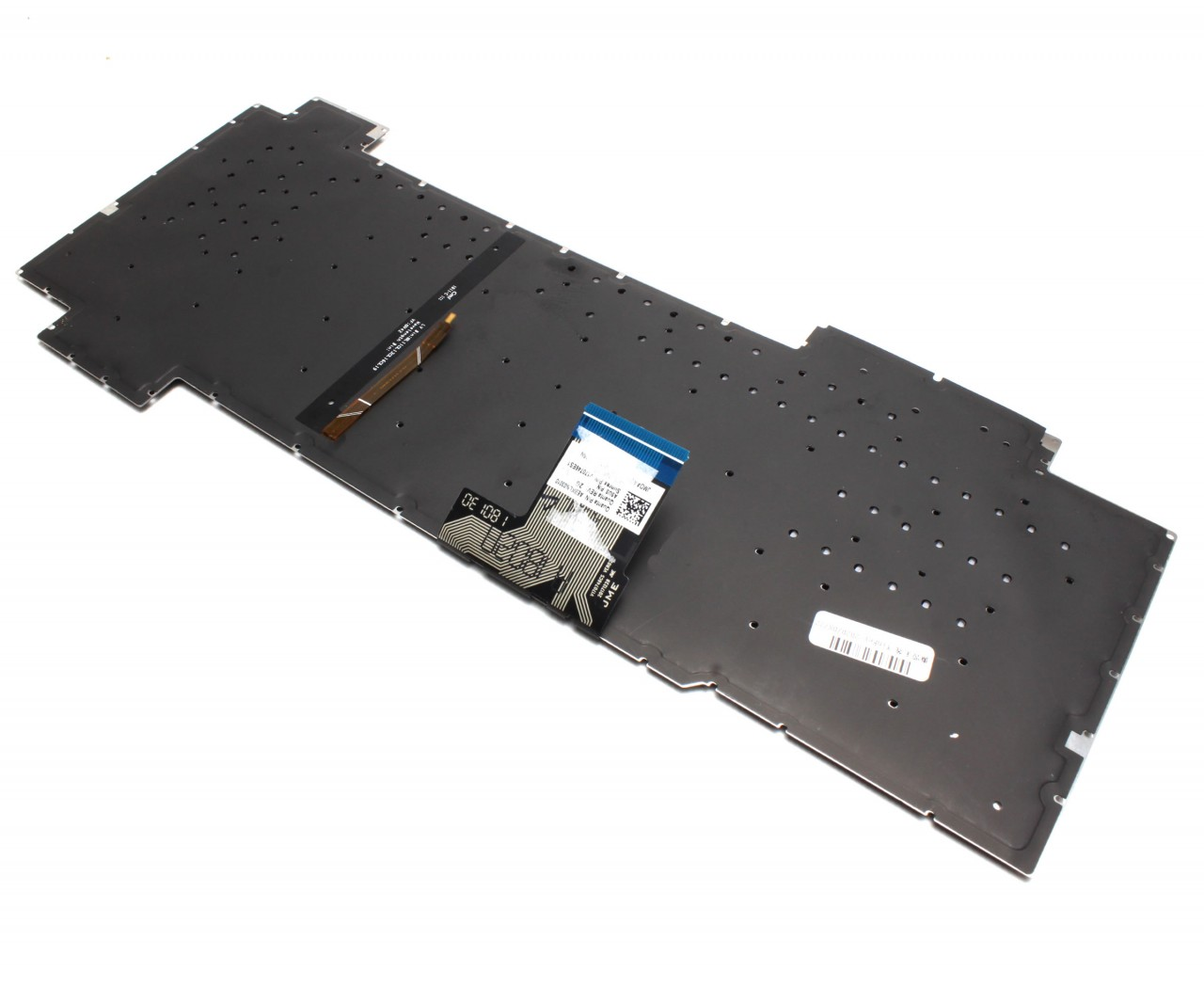 Tastatura neagra cu iluminare rosie pe marginea tastelor Asus TUF Gaming FX504GD-RS51 iluminata layout US fara rama enter mic imagine powerlaptop.ro 2021