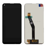 Ansamblu Display LCD + Touchscreen Huawei Y7P 2020 ART-L28 Black Negru . Ecran + Digitizer Huawei Y7P 2020 ART-L28 Black Negru