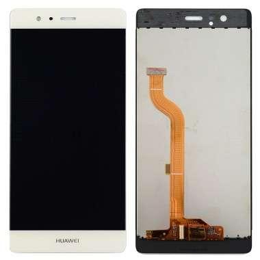 Ansamblu Display LCD + Touchscreen Huawei P9 EVA-L09 White Alb . Ecran + Digitizer Huawei P9 EVA-L09 White Alb