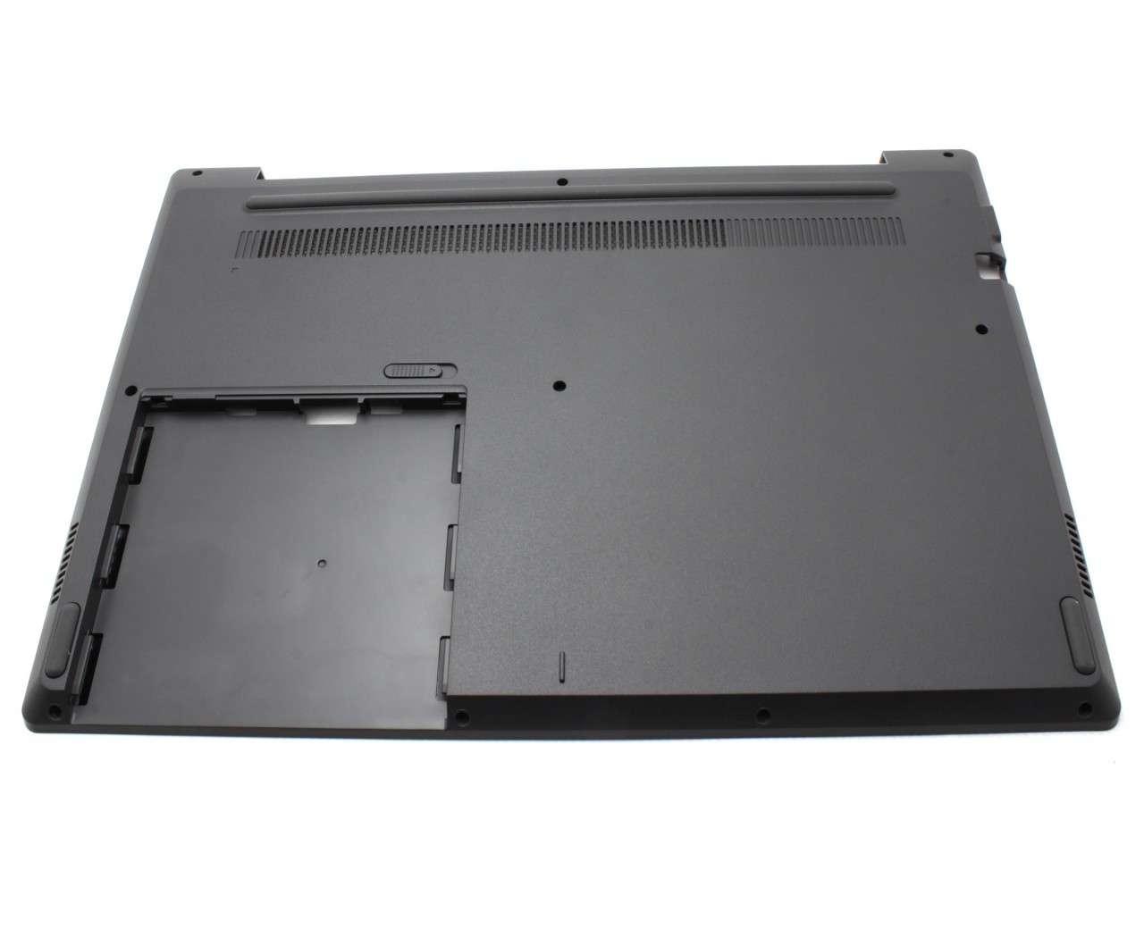 Bottom Case Lenovo 81B0003KAU Carcasa Inferioara Neagra cu Orificiu VGA imagine powerlaptop.ro 2021