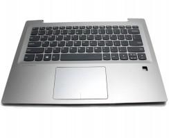 Palmrest Lenovo 5CB0N67323. Carcasa Superioara Lenovo 5CB0N67323 Gri cu tastatura si touchpad inclus