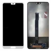 Ansamblu Display LCD + Touchscreen Huawei P20 EML-L09C White Alb. Ecran + Digitizer Huawei P20 EML-L09C White Alb