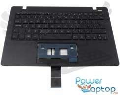 Tastatura Asus  X200CA neagra cu Palmrest negru. Keyboard Asus  X200CA neagra cu Palmrest negru. Tastaturi laptop Asus  X200CA neagra cu Palmrest negru. Tastatura notebook Asus  X200CA neagra cu Palmrest negru