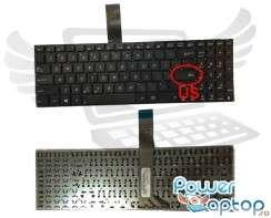 Tastatura Asus  A56. Keyboard Asus  A56. Tastaturi laptop Asus  A56. Tastatura notebook Asus  A56