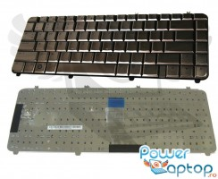 Tastatura HP Pavilion dv5 1010 cafenie. Keyboard HP Pavilion dv5 1010 cafenie. Tastaturi laptop HP Pavilion dv5 1010 cafenie. Tastatura notebook HP Pavilion dv5 1010 cafenie