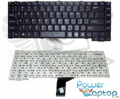 Tastatura Benq Joybook R23 neagra. Keyboard Benq Joybook R23 neagra. Tastaturi laptop Benq Joybook R23 neagra. Tastatura notebook Benq Joybook R23 neagra