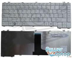 Tastatura Toshiba Satellite C645D alba. Keyboard Toshiba Satellite C645D alba. Tastaturi laptop Toshiba Satellite C645D alba. Tastatura notebook Toshiba Satellite C645D alba