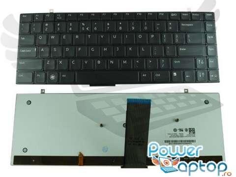 Tastatura Dell  R266S iluminata backlit. Keyboard Dell  R266S iluminata backlit. Tastaturi laptop Dell  R266S iluminata backlit. Tastatura notebook Dell  R266S iluminata backlit