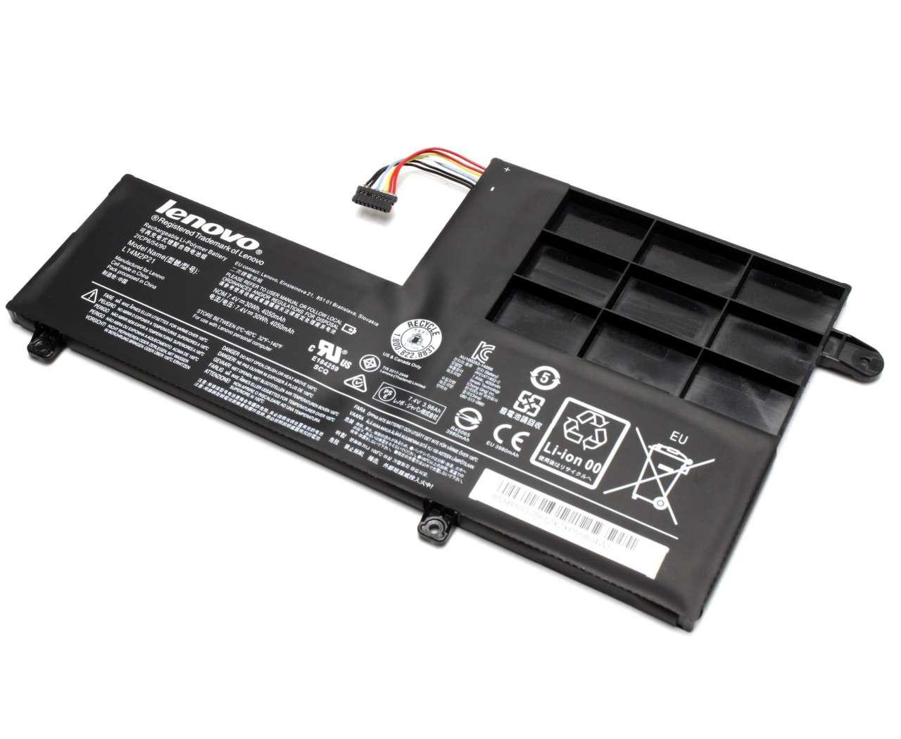 Baterie Lenovo IdeaPad 510S-14ISK Originala 30Wh/4050mAh 2 celule imagine powerlaptop.ro 2021