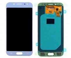 Ansamblu Display LCD + Touchscreen Samsung Galaxy J5 2017 J530 Light Blue Albastru. Ecran + Digitizer Samsung Galaxy J5 2017 J530 Light Blue Albastru