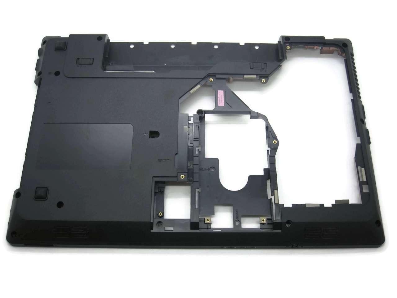 Bottom Case Lenovo G575AL Carcasa Inferioara Neagra imagine powerlaptop.ro 2021