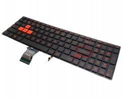 Tastatura Asus GL702VT iluminata. Keyboard Asus GL702VT. Tastaturi laptop Asus GL702VT. Tastatura notebook Asus GL702VT