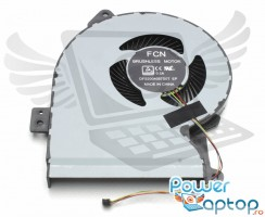 Cooler laptop Asus  X541UJ. Ventilator procesor Asus  X541UJ. Sistem racire laptop Asus  X541UJ