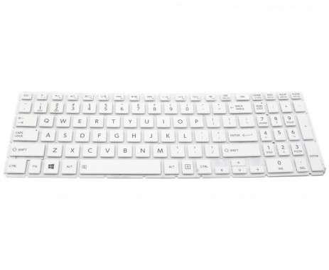 Tastatura Toshiba Satellite L50-B-1CD Alba. Keyboard Toshiba Satellite L50-B-1CD. Tastaturi laptop Toshiba Satellite L50-B-1CD. Tastatura notebook Toshiba Satellite L50-B-1CD