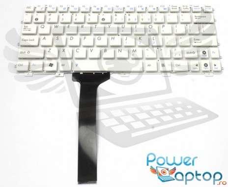 Tastatura Asus Eee PC 1015P alba. Keyboard Asus Eee PC 1015P. Tastaturi laptop Asus Eee PC 1015P. Tastatura notebook Asus Eee PC 1015P