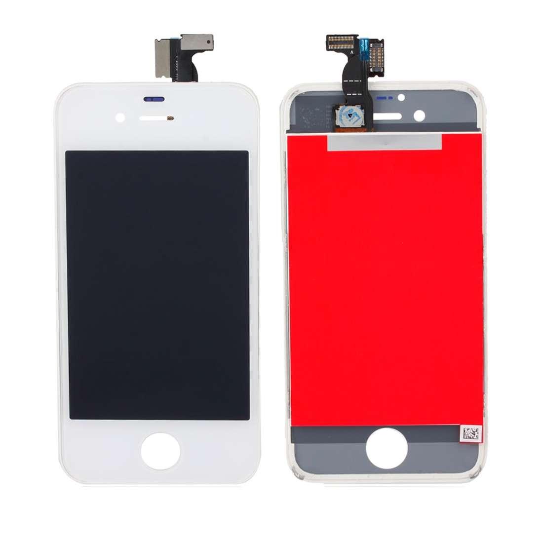 Display Apple iPhone 4s Alb White High Copy Calitate A Plus imagine powerlaptop.ro 2021