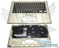 Tastatura Dell  460.00K1A.0001 Neagra cu Palmrest auriu. Keyboard Dell  460.00K1A.0001 Neagra cu Palmrest auriu. Tastaturi laptop Dell  460.00K1A.0001 Neagra cu Palmrest auriu. Tastatura notebook Dell  460.00K1A.0001 Neagra cu Palmrest auriu