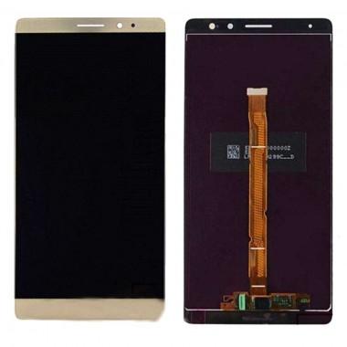 Ansamblu Display LCD + Touchscreen Huawei Mate 8 Gold Auriu . Ecran + Digitizer Huawei Mate 8 Gold Auriu