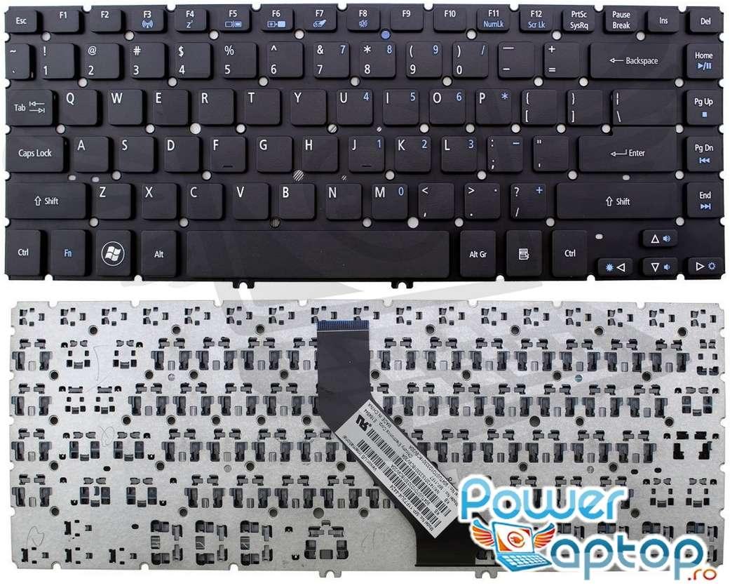 Tastatura Acer Aspire V5 431PG imagine powerlaptop.ro 2021