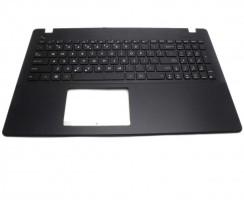 Tastatura Asus  1625DA000A6 neagra cu Palmrest negru. Keyboard Asus  1625DA000A6 neagra cu Palmrest negru. Tastaturi laptop Asus  1625DA000A6 neagra cu Palmrest negru. Tastatura notebook Asus  1625DA000A6 neagra cu Palmrest negru