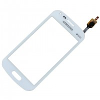 Touchscreen Digitizer Samsung Galaxy Trend Plus S7580 White Alb. Geam Sticla Smartphone Telefon Mobil Samsung Galaxy Trend Plus S7580 White Alb