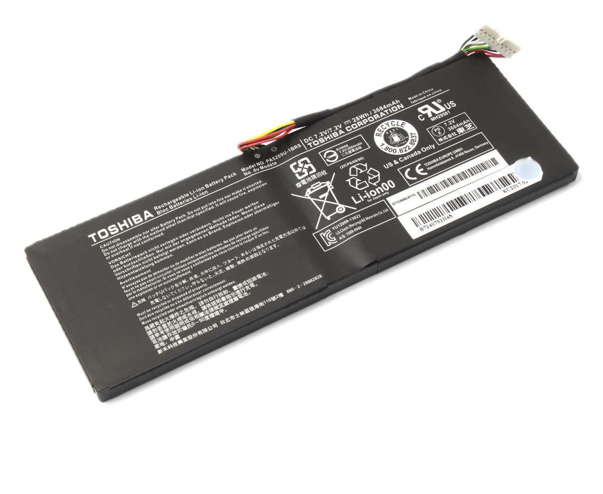 Baterie Toshiba Satellite L10W B 2 celule Originala imagine powerlaptop.ro 2021