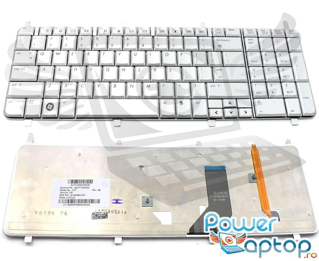 Tastatura HP Pavilion DV8 1080EA Argintie iluminata backlit imagine powerlaptop.ro 2021