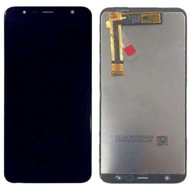 Ansamblu Display LCD + Touchscreen Samsung Galaxy J4+ Plus 2018 J415G Black Negru . Ecran + Digitizer Samsung Galaxy J4+ Plus 2018 J415G Negru Black