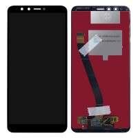Ansamblu Display LCD + Touchscreen Huawei Y9 2018 FLA-L22 Black Negru . Ecran + Digitizer Huawei Y9 2018 FLA-L22 Black Negru