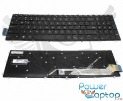 Tastatura Dell Inspiron 15 Gaming 7577 iluminata. Keyboard Dell Inspiron 15 Gaming 7577. Tastaturi laptop Dell Inspiron 15 Gaming 7577. Tastatura notebook Dell Inspiron 15 Gaming 7577