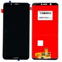 Ansamblu Display LCD + Touchscreen Huawei Y7 Prime 2018 LDN-L2 Black Negru . Ecran + Digitizer Huawei Y7 Prime 2018 LDN-L2 Black Negru