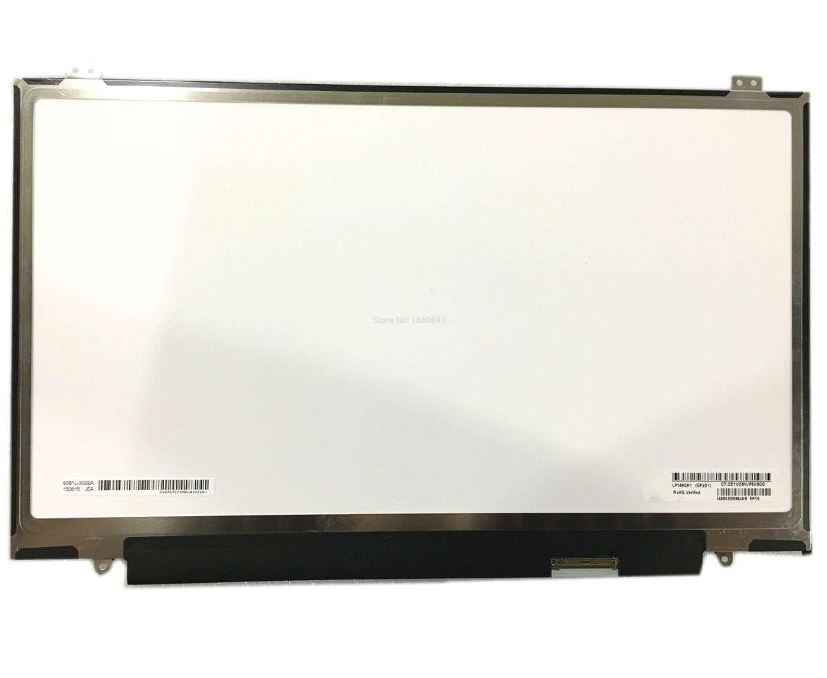 Display laptop Lenovo LP140QH1 SPB1 Ecran 14.0 2560x1440 40 pini Edp imagine powerlaptop.ro 2021